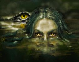 Eyes of the bayou by MigraineSky