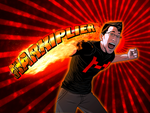 Markiplier PAWNCH! by mongrelmarie
