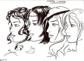 Teh Ladies by SilverFists