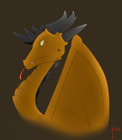 first dragon attempt by Cool-Mojo-Sis
