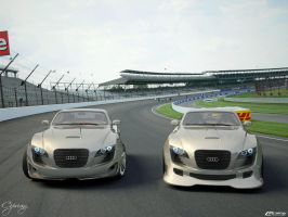 Audi R10 s and sport version by cipriany