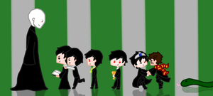 Voldemort and the Seven Horcruxes by BlueEmperorButterfly