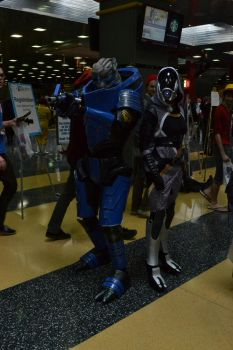 Mass Effect - Garrus Vakarian/Tali'Zorah by Subject-Delta12