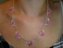 Butterfly Necklace by LoDuris
