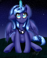 Little Luna by ArtyJoyful