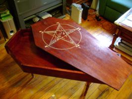 Baphomet Coffin by Tahirbrown