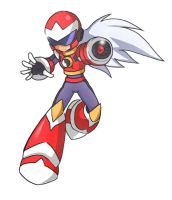 Request: Protoman-RA X Style by Shoutaro-Saito