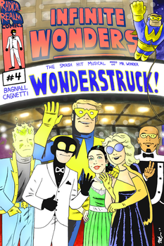 Infinite Wonders #4 cover by CagsCreations