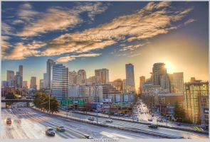 Downtown Seattle by Rattanack