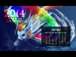 MLP Pony Year Wallpaper - 2014 JANUARY (1280x960) by FoxTailPegasus