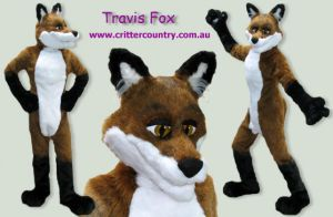 Travis Fox Fursuit by ozkangaroo