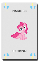 Pinkie Pie card by pims1978