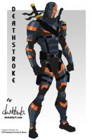 Deathstroke Movieverse (Young Justice stlye) by dark-BuB