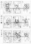 rough sketch-card deck concept by Fortranica