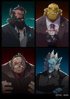 dota2 Mafia part3 by biggreenpepper