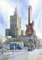 Warsaw's Hard Rock by GreeGW