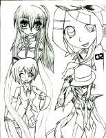 Vocaloids by loverofsasukeuchiha