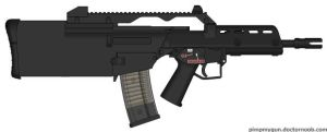 Bullpup G-36c Lengthened by GeneralTate