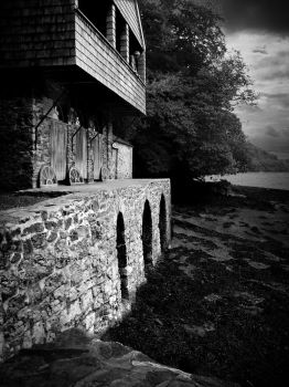 Agatha Christie's boathouse by DogAngel