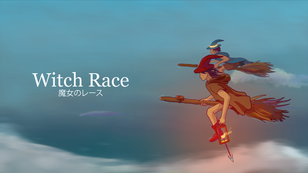 Witch Race (click for movie!) by eltoNNNNNN