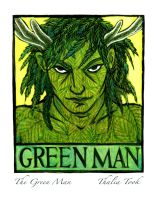 The Green Man by ThaliaTook