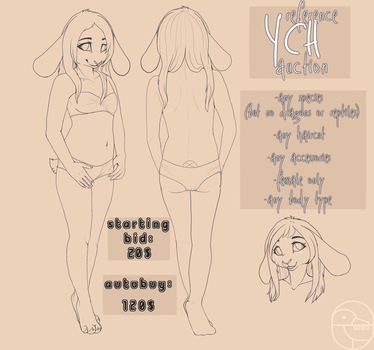 reference YCH auction OPEN by Satuka