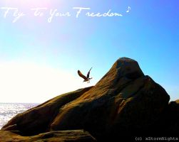 Fly To Your Freedom by xStormNightx
