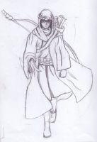 Hasan in Desert outfit by Allocer2009
