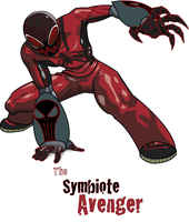 The Symbiote Avenger by Ziza53