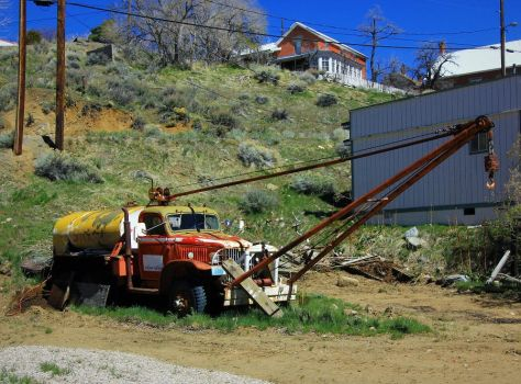 Dodge Power Wagon boom truck by finhead4ever