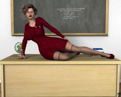 Ms. Kristin - Back to Class by jaycrimson3d