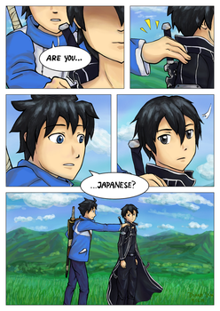 Trapped in Another World (FoZ and SAO Crossover) by Ceruulean