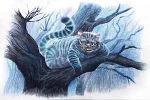 Cheshire Cat by pisces219320