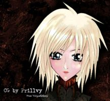 Lady Face by darkmild
