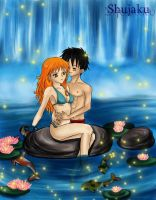 Wuensch dir was Nami X Luffy by ChiisaiNamida