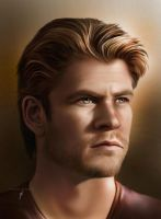 Chris Hemsworth by ThreshTheSky