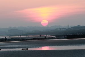 Big sun by Tiger--photography