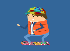 12. Marty McFly by brobe