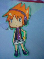 TWEWY- Neku Sticker by Imimi-Ai