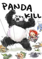 Panda Kill ! by racoonwolf
