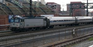 Amtrak AEM7 912 Reversing by JamesT4