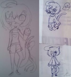 Aoi sketches by MyuOneeChan