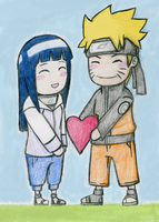 NaruHina - You own my heart by DivineHeartz