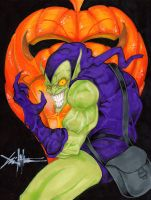 Green Goblin 2 by ChrisOzFulton