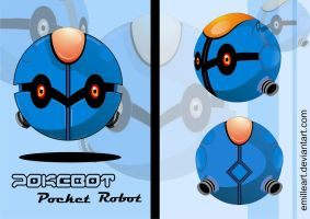 Pocket Robot by Emilleart