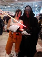 Chell, come to the dark side, we have cakes. by Naelia12