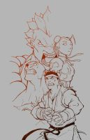 Street Fighter Lines by Anny-D