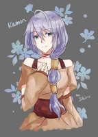 Kamon doodle by BlackTwin-Shiro