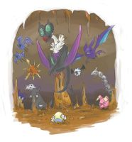 Cave Pokemon by Mplague
