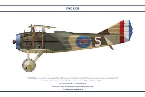 Spad S.XIII USA 95th Aero Sqn by WS-Clave
